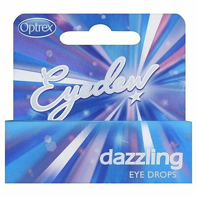 Optrex Eyedew Dazzling Eye Drops(10ml)UK SELLER, FREE&FAST POSTAGE (OFFER PRICE)