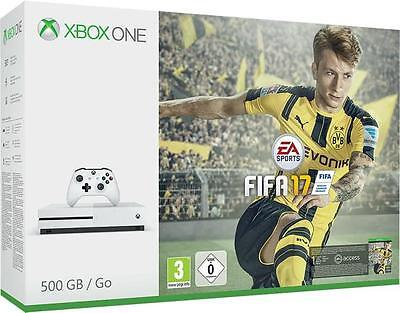 Console Microsoft Xbox One S 500Gb + Fifa 17 + Need For Speed Rivals + Titanfall