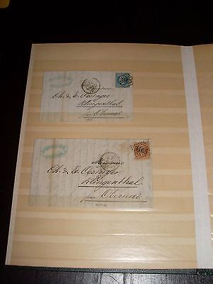 Collection France incluant lettres, Sammlung Frankreich inkl Belege