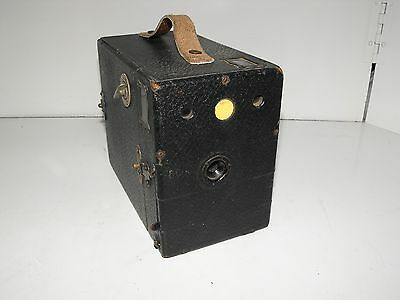 "Vintage Ensign 2 1/2 Box Form Film Camera ""In Good Vintage Condition."