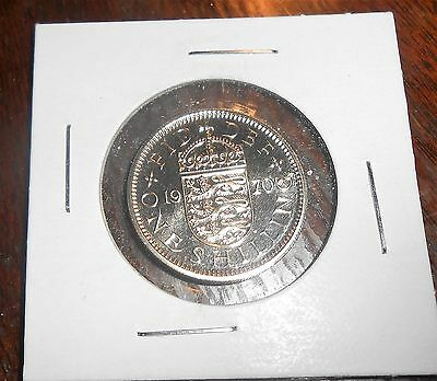 Nice  Great Britain 1970 English Shilling Coin