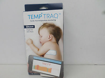 TEMP TRAQ Babies Bluetooth Thermometer Tracking Tracker Patch iPhone