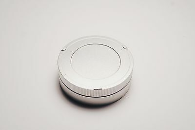 Leica M metal rear cap, black, silver, Tool for removing L39 M39 adapter