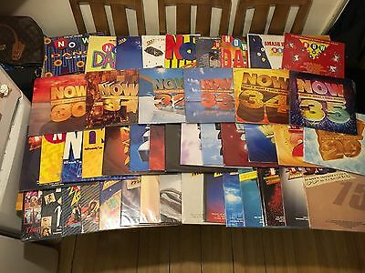 Now Thats What I Call Music 1 - 35 On Vinyl + 9 Extra Now Vinyls