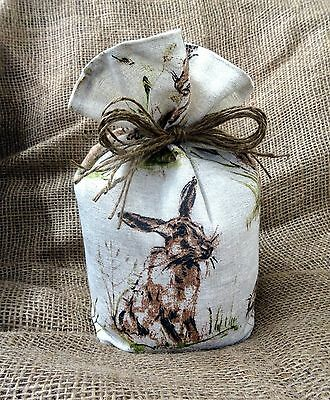 Countryside Animal Print Fabric Doorstop - Hare, Pheasant, Chicken or Horse