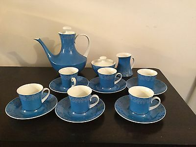 Tea Set Service For 6 - Bidasoa Andalucia Espana By Block