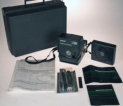 Polaroid Photo Magic System Button Maker - Mint in Hard Case