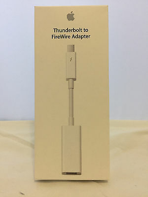 Genuine Apple Thunderbolt To Firewire Adapter - Original Box - Md464Zm/a