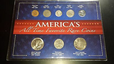 United States - America's All Time Favorite Rare Coins Set