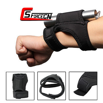 Flashlight Arm Wrist Holster Pouch Hunting Military Accessory for Surefire Black