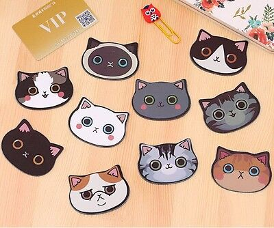 1pc Portable Cute Cat Cosmetic Mirror Kitty Acrylic Shatter-proof Scratch-proof
