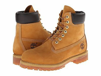New Timberland Wheat Men's Boots 6-Inch Classic Premium Waterproof Usa Seller