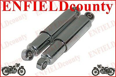 New Lambretta Scooter Gp Front Chrome Plated Damper Shock Absorber Unit @aud