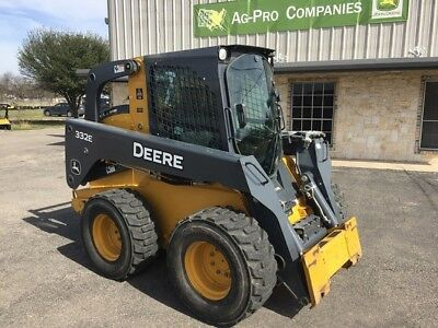 2014 John Deere 332E Skid Steer Loader