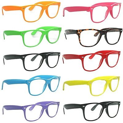 Wholesale Lot of 120 Neon Sunglasses Retro Horned Rim Frame Party Favors