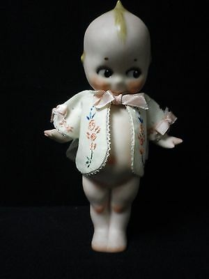 "9"" Artist Made Bisque Kewpie / Handmade Jacket"
