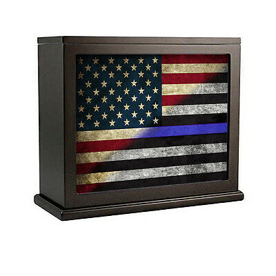 Red White Blue Line Flag For Law Enforcement Accent Light Night Light Box