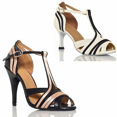 Adult Latin Dance Shoes Women's High Dance Shoes Modern Square Soft Dance Shoes
