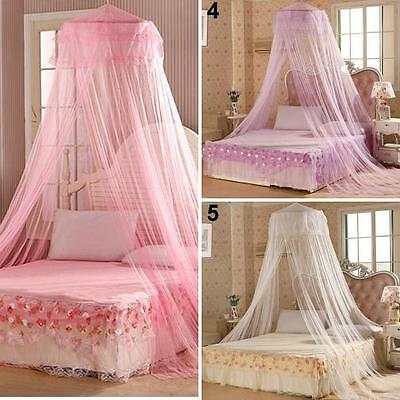Home Bedding Decor Summer Sweet Style Round Bed Canopy Dome Mosquito Net Selling