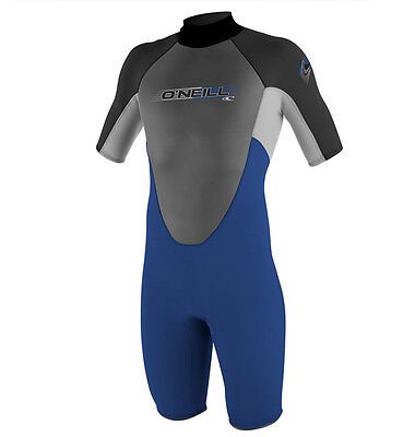 O'Neill Reactor 2mm Shorty Wetsuit Pacific Blue