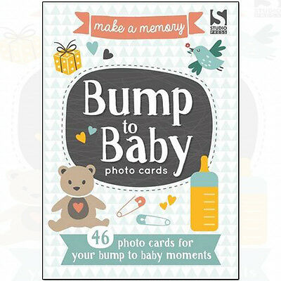 Make a Memory Bump to Baby Photo Cards Books By Holly Brook-Piper