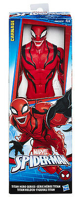 Spider-Man Titan Hero Series Marvel Carnage 12' Action Figure 30cm. HASBRO