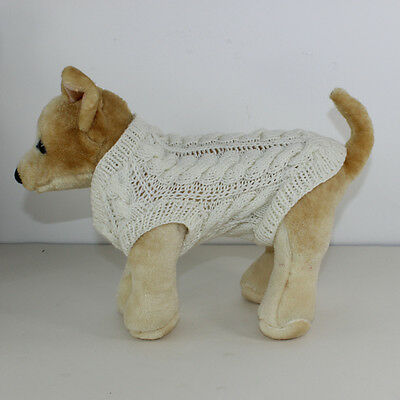 Printed Knitting Instructions - Small Dog Cricket Sweater Coat Knitting Pattern