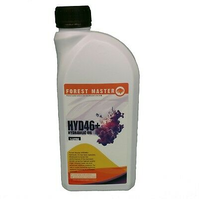 Iso 46 Hydraulic Fluid Oil For Electric Log Splitter 1 Litre