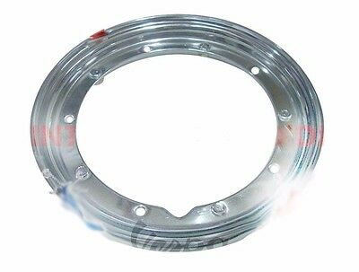 "Vespa Px Lml Star Stella Wheel Rim 10 "" (3.50 X 10"") Chrome Plated @aud"