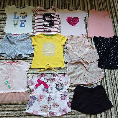 Job Lot Girls Summer Clothing Bundle Age 4-5 All Immaculate. Next Mothercare M&P