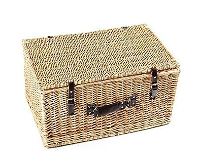 Greenfield Collection 24  Classic Standard Willow Picnic Hamper