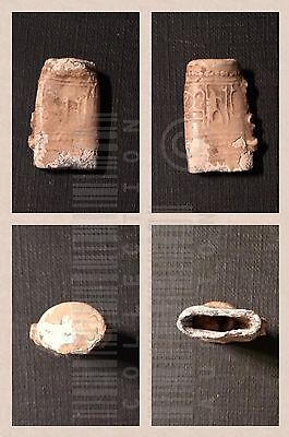 Al Andalus الأندلس - VERY RARE Antique Arabic Amulet with remains inside