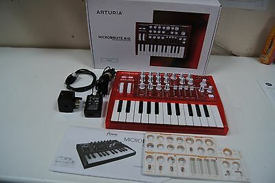 Arturia Special Edition RED MicroBrute Analogue Monophonic Synthesizer