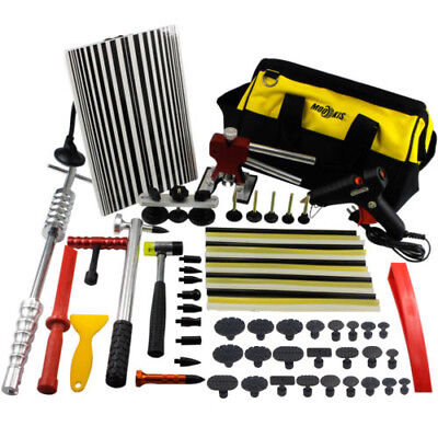 PDR Paintless Dent Repair Kits Puller Lifter Hammer Glue Gun Hail Removal Tools