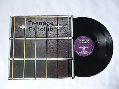 "Teenage Fanclub ~ What You Do To Me ~ Cre 115T ~ Ex+/vg+ ~ 1992 Uk 12"" Vinyl Ep"