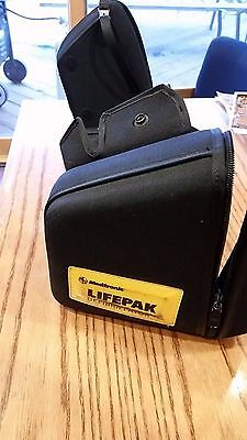LIFEPAK 12 Carrying Case Side Pouches and front cover and back pouch