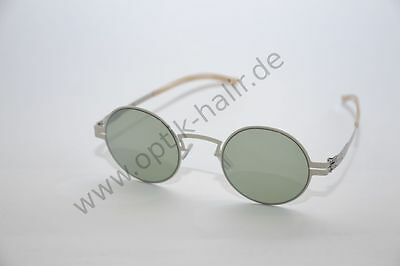 ic! Berlin Mod. Sofia P. col. Off-White Sonnenbrille aus Metall
