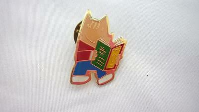 Cobi Rare official badge Olympic organizing committed Barcelona 1992 COOB