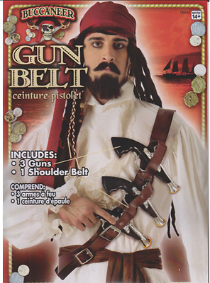 Buccaneer Gun Belt - Pirate Accessory