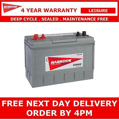 12V 130AH Leisure Battery DEEP CYCLE for Motorhome Caravan Campervan, Dual Posts