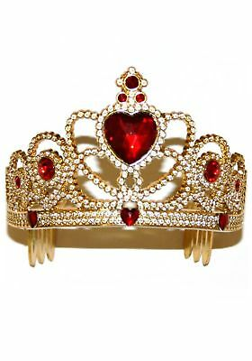 Gold and Red Princess Crown
