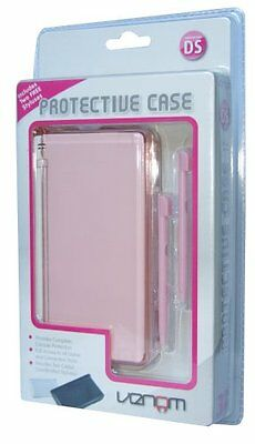 DS Lite Protective Case Pink  + 2 Free Styluses by Venom