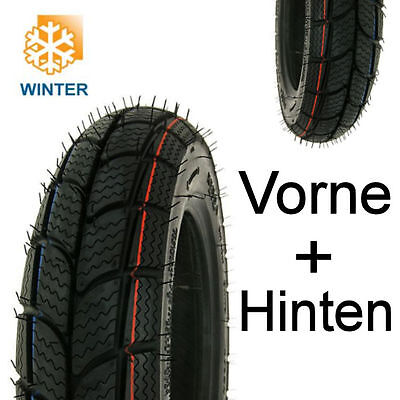 *neu* Winter Reifen Set Kenda K701 M+S 3.50-10 Atu Kallio Level 100 Retro Star