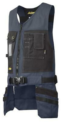 Snickers 4254 Utility Work Toolvest, Canvas+ NAVY BLUE