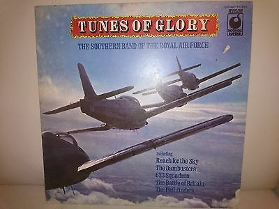 Tunes of Glory LP 1974 SPR 90017 Royal Air Force Band