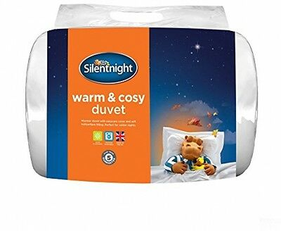 Silentnight Warm And Cosy 15 Tog Duvet - Double, White