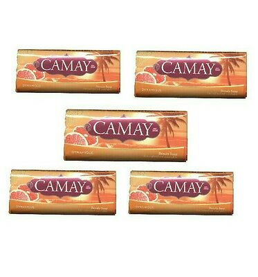 5x CAMAY Seife 90g Bar Soap Fragrant Aromatische Seife Dynamique
