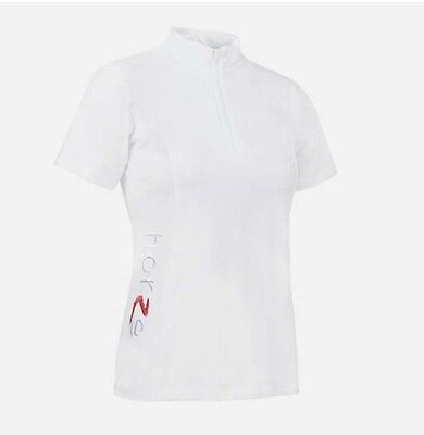 Horze Ladies Technical Competition Shirt l White l Small