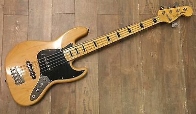 squier vintage modified jazz bass 5 string bass 2016
