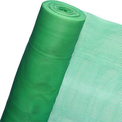 Plastic Fence 50m x 1,20m Height Mesh 5mm Green Noise Protection Screen Grid